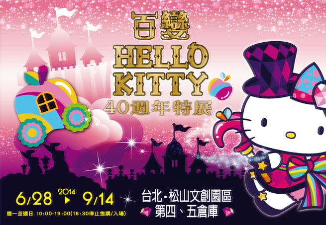 百變Hello Kitty 40週年特展 高雄